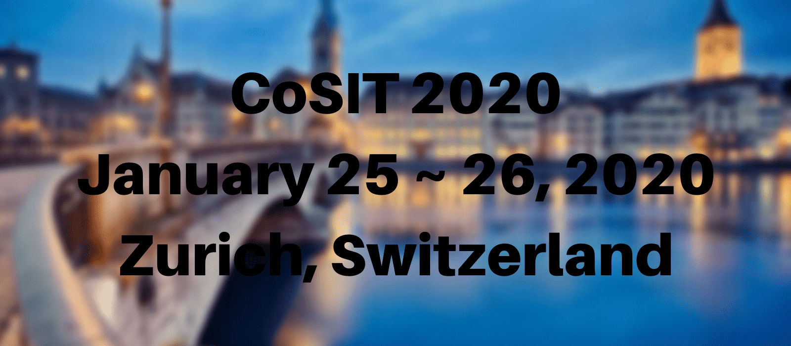 7th International Conference on Computer Science and Information Technology (CoSIT 2020)