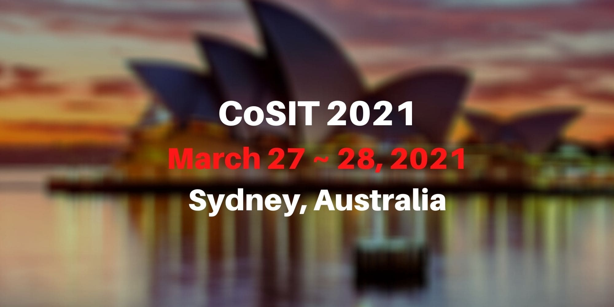 8th International Conference on Computer Science and Information Technology (CoSIT 2021)