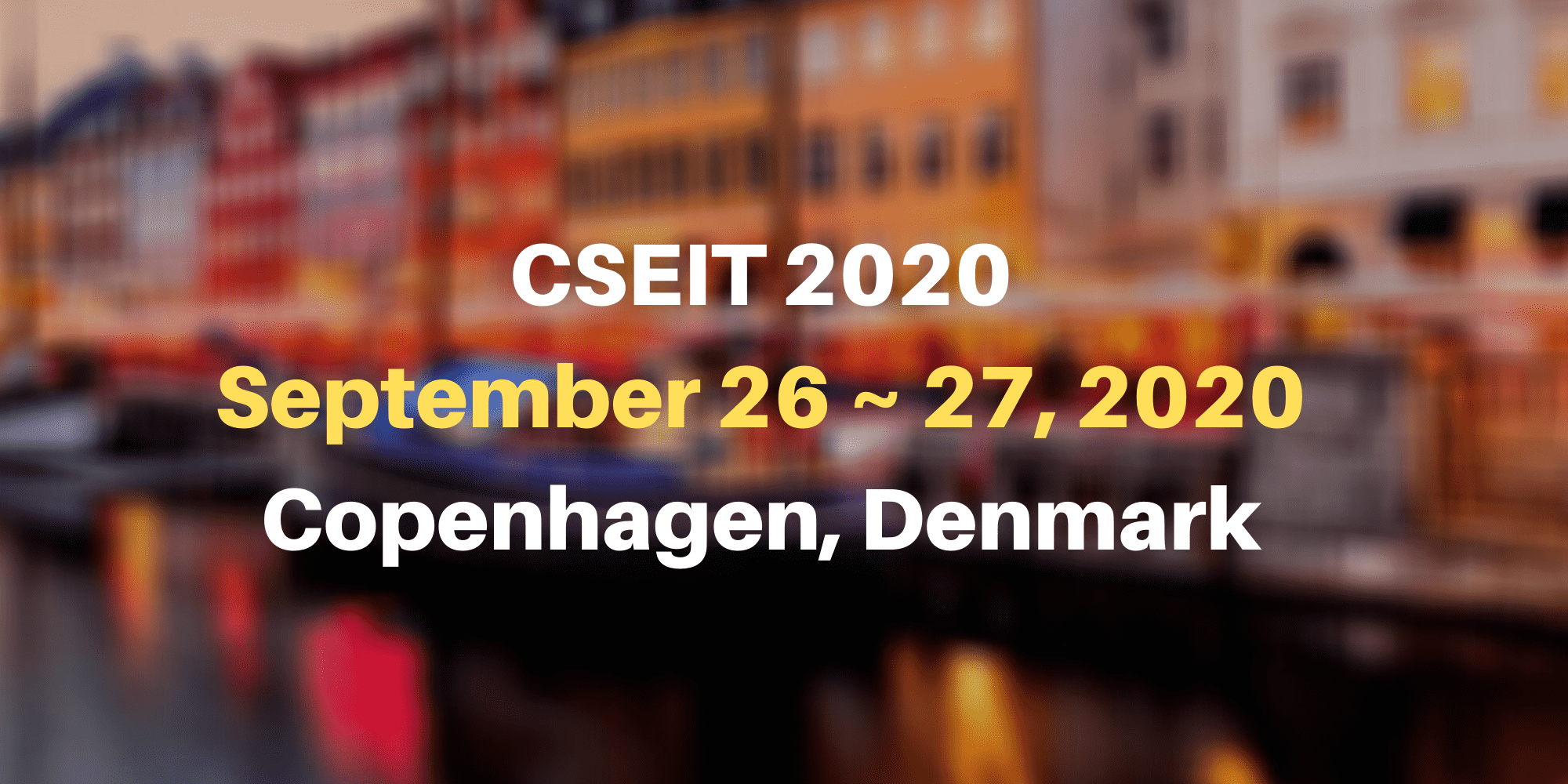 7th International Conference on Computer Science, Engineering and Information Technology (CSEIT 2020)