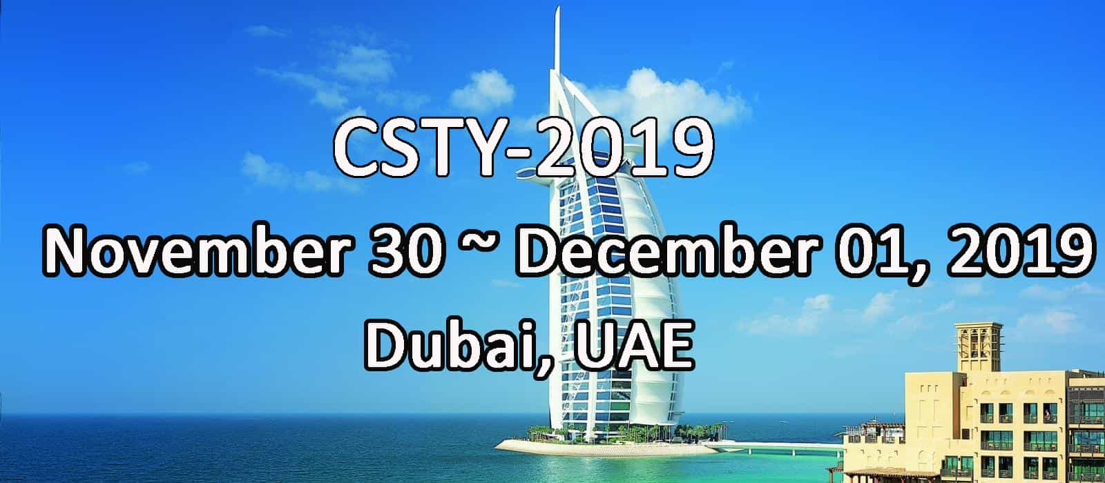 5th International Conference on Computer Science and Information Technology (CSTY 2019)