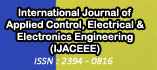 International Journal of Applied Control, Electrical and Electronics Engineering (IJACEEE)